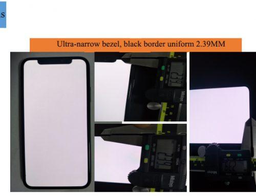 iPhone's OLED flexible screen and OLED hard screen